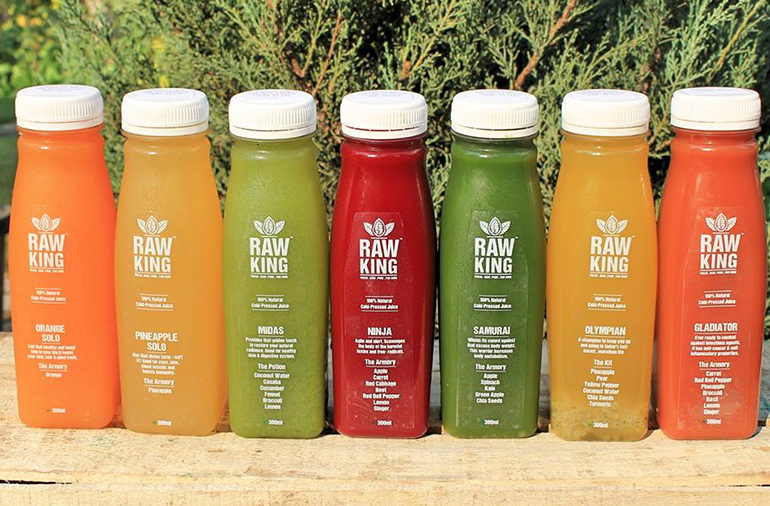 Cold pressed juice brand India